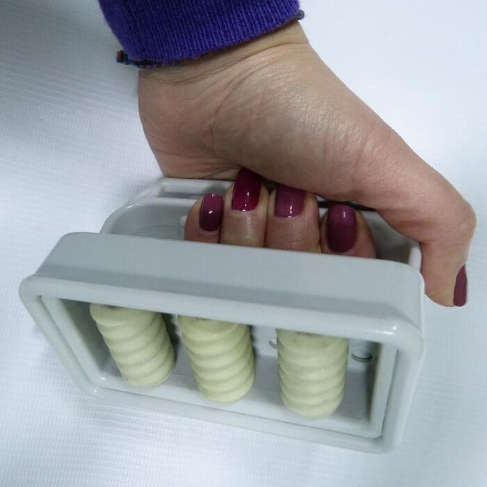 Насадка с тремя магнитными роликами № 1 для вакуумного массажера МВТ-01. фото 2